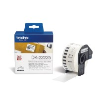 Brother DK-22225 White Continuous Length Paper Tape 38mm x 30.48m