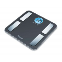 Beurer BF 195 diagnostic bathroom scale; round LCD display; Weight