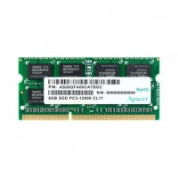 Apacer 8GB Notebook Memory - DDR3 SODIMM PC12800 512x8 @ 1600MHz
