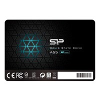 "Solid State Drive (SSD) SILICON POWER A55, 2.5"", 1 TB, SATA3 3D NAND flash"