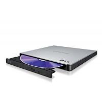 Външно USB DVD записващо устройство LG GP57ES40, USB 2.0, сребърно сив